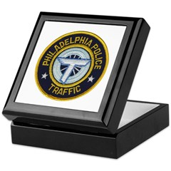 Phila PD Traffic Keepsake Box