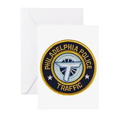 Phila PD Traffic Greeting Cards (Pk of 10)