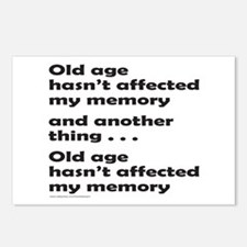 OLD AGE Postcards (Package of 8)