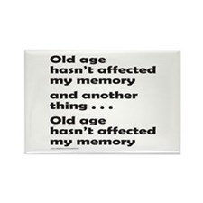 OLD AGE Rectangle Magnet (100 pack)