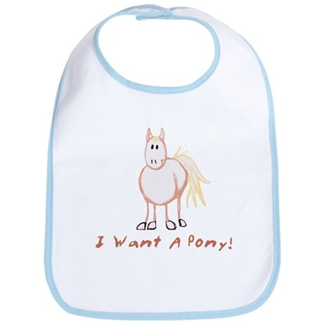 I Want a Pony Bib