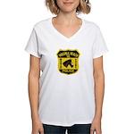 VA Beach Mounted PD Women's V-Neck T-Shirt