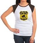VA Beach Mounted PD Women's Cap Sleeve T-Shirt
