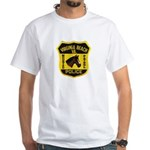VA Beach Mounted PD White T-Shirt
