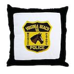 VA Beach Mounted PD Throw Pillow