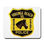 VA Beach Mounted PD Mousepad