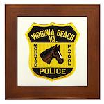 VA Beach Mounted PD Framed Tile