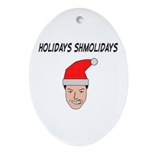 Unique Witty bantings Oval Ornament