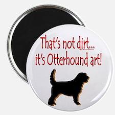Otterhound Art Magnet
