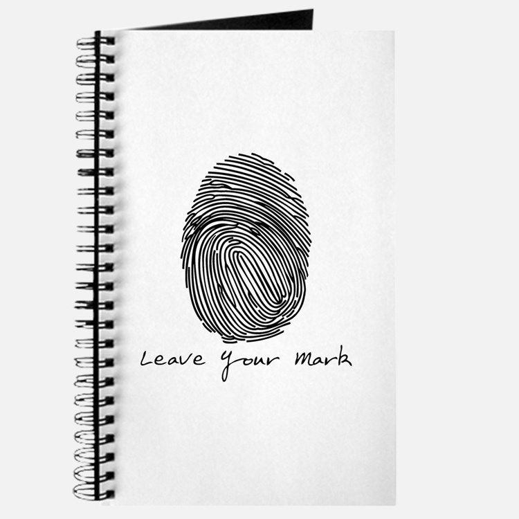 Leave your Mark - Black Journal