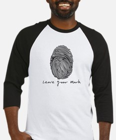 Leave your Mark - Black Baseball Jersey