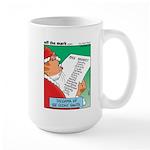 Feline Santa Large Mug