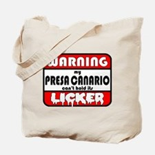 Presa Canario LICKER Tote Bag