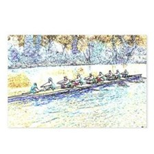 CREW LINES Postcards (Package of 8)