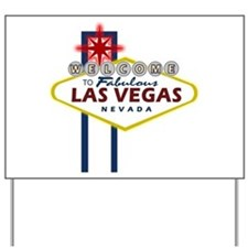 Las Vegas Sign Yard Sign