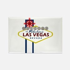 Las Vegas Sign Rectangle Magnet