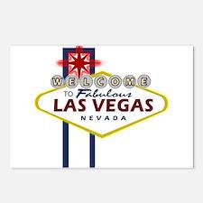 Las Vegas Sign Postcards (Package of 8)