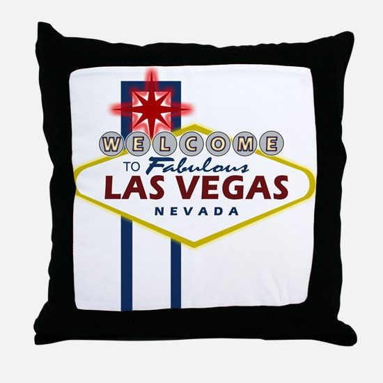 Las Vegas Sign Throw Pillow