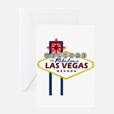 Las Vegas Sign Greeting Card