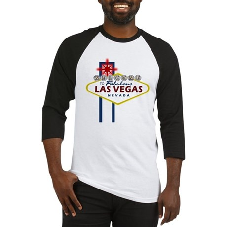 Las Vegas Sign Baseball Jersey