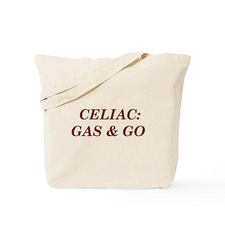Celiac: Gas & Go Tote Bag