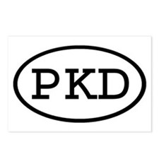 PKD Oval Postcards (Package of 8)