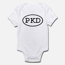 PKD Oval Infant Bodysuit