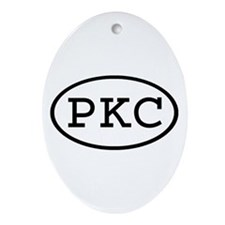 PKC Oval Oval Ornament