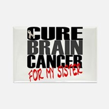 Cure Brain Cancer -- For my Sister Rectangle Magne