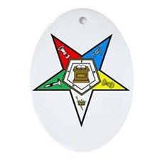 OES Oval Ornament