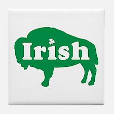 Buffalo Irish Tile Coaster