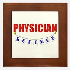 Retired Physician Framed Tile