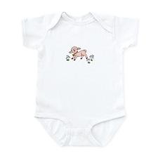 Infant Bodysuit with baby lamb