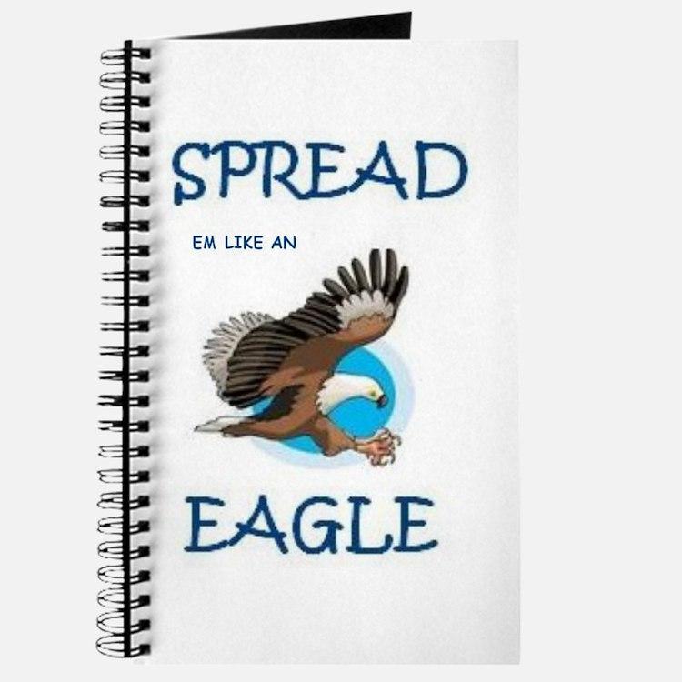 Cute Mens eagle Journal