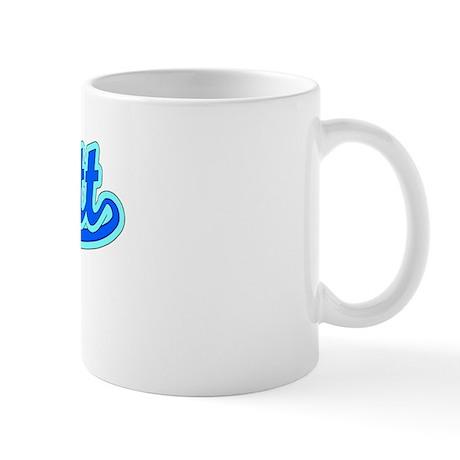 Retro Jarrett (Blue) Mug