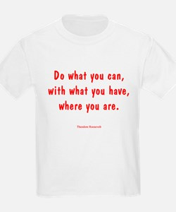 TR's Do what you can T-Shirt