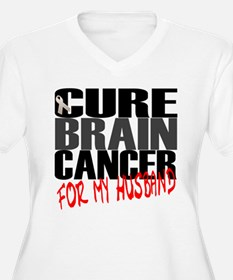 Cure Brain Cancer -- For my Husband T-Shirt