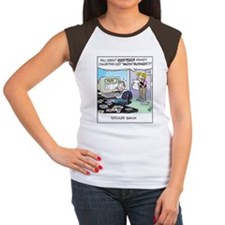 Wacky Packages Auctions Women's Cap Sleeve T-Shirt