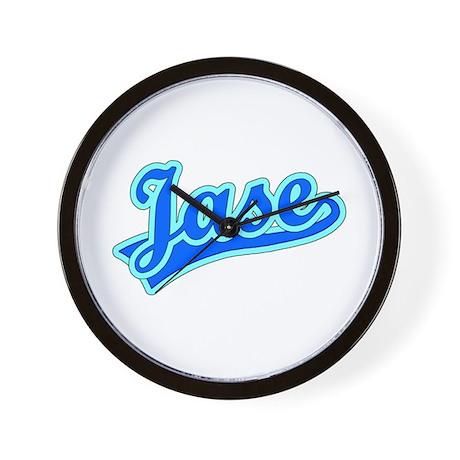 Retro Jase (Blue) Wall Clock