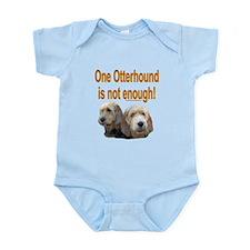 Otterhound Art Infant Bodysuit