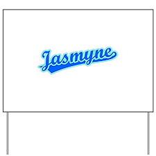 Retro Jasmyne (Blue) Yard Sign