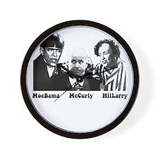 MoeBama, McCurly, HilLarry Wall Clock
