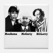 MoeBama, McCurly, HilLarry Tile Coaster