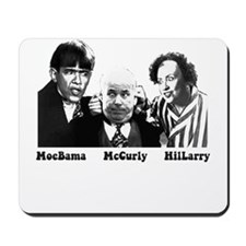 MoeBama, McCurly, HilLarry Mousepad