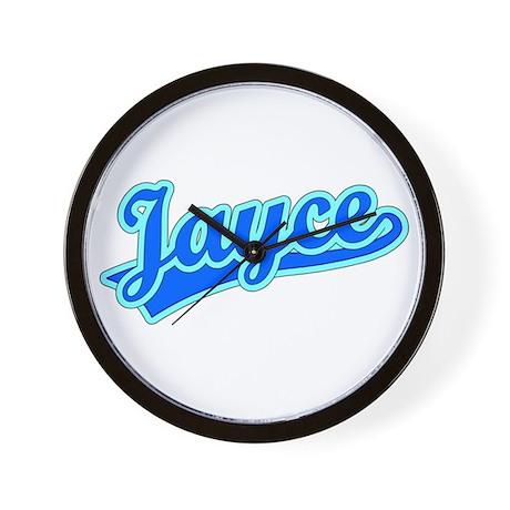 Retro Jayce (Blue) Wall Clock