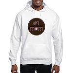 #1 Mom Hooded Sweatshirt