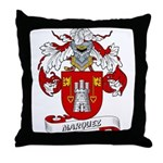 Marquez Family Crest Throw Pillow