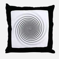 HypnoDisk Throw Pillow