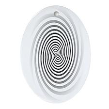 HypnoDisk Ornament (Oval)