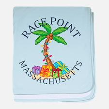 Summer Race Point- massachusetts baby blanket